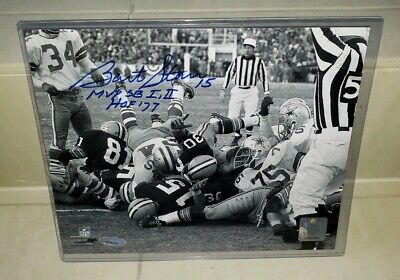Bart Starr Signed Green Bay Packers Ice Bowl 8x10 Photo Tristar Tri Star COA Bart Starr Ice Bowl