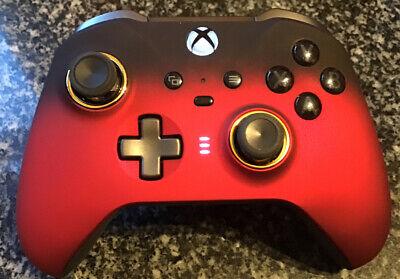 xbox one elite controller series 2 Custom Red Shadow Velvet