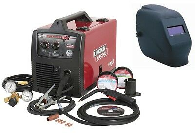 Lincoln K2698-1h Easy-mig 180 Welder With Bonus Adf Helmet