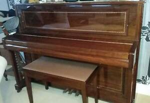 Beirnstein Upright Piano in Pristine Condition Kew Boroondara Area Preview