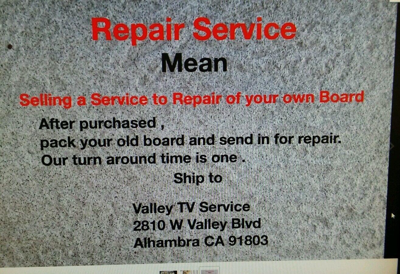 REPAIR SERVICE,42LW5600, 47LW5700, 47LW6500, 55LW5600