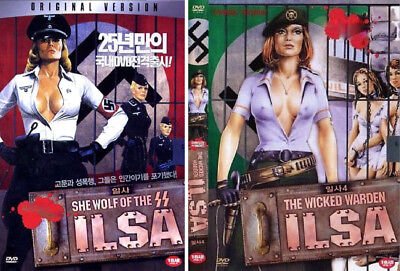 Ilsa : She Wolf of the SS (1975), Ilsa : The Wicked Warden (1977)  DVD