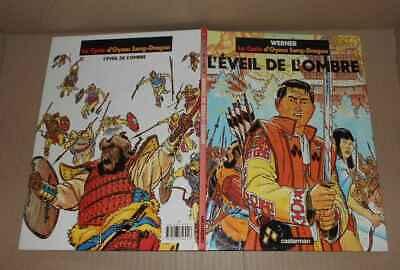 BD Werner Eveil de l'ombre Cycle d'Oyasu Sang-Dragon EO 1991 (genre Kogaratsu)