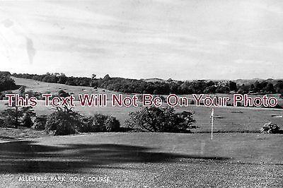 DR 227 - Allestree Golf Course, Belper, Derby, Derbyshire c1940 - 6x4...