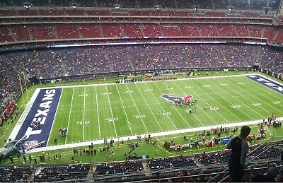 4 Tickets Houston Texans vs New England Patriots 11/22