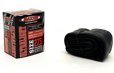 Maxxis Ultralight Mountain Bike Inner Tube 27.5 x 1.90-2.35 Presta 145g LIGHT Ultralight Presta Tube