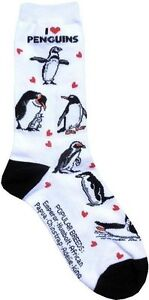 I-love-Penguins-Women-Size-Socks