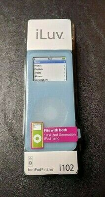 iLuv i102 Pack of 3 Silicon Case for 2GB/4GB Apple iPod Nano 1st & 2nd Gen Only Ipod Nano 3 Silicon Case