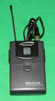Speco Technologies Mwlp-uhf Professional Uhf Frequency-selectable Pll Microphone