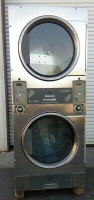 Huebsch Stack Dryer Coin Op 30lb 120vac 1ph 60hz Sn 1108029813 Refurb