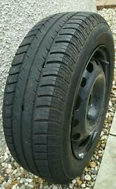 175 65 R14 wheel with Continental tyre