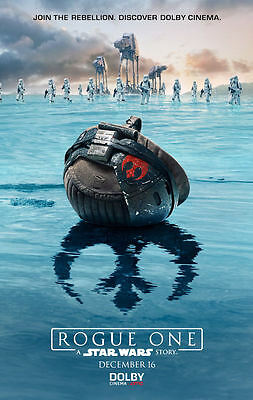 """Star Wars Rogue One (11"""" x 17"""") Movie Collector's Poster Print (T13) - B2G1F"""