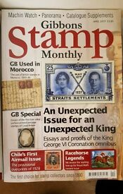 Gibbons Stamp Monthly x127
