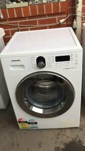 Nice 7.5 kg 4.5 star energy rating SUMSUNG front washing machine   it