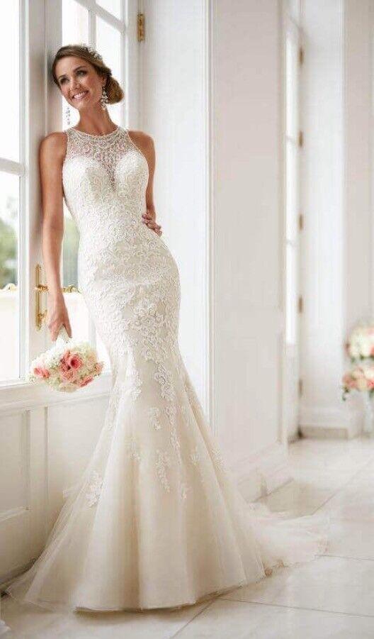 Size 14 Wedding Dress Stella York 6435 Brand New