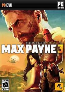 MAX PAYNE 3 PC GAME DVD-ROM BRAND NEW SEALED