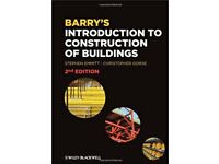 Barry's Introduction To Construction Of Buildings (Second Edition)