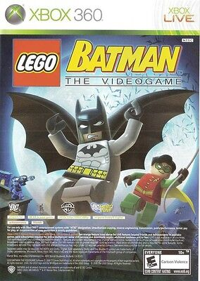Lego Batman  The Videogame   Pure   Xbox 360 Game