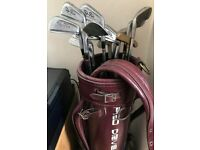 Used Golf 12 pieces set with bag for sale £60 o.n.o.