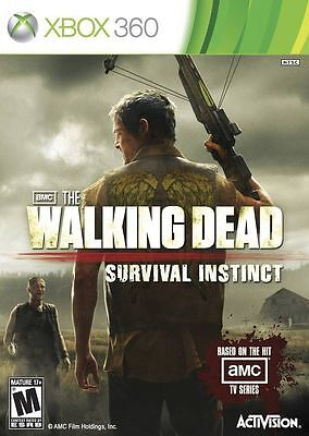 Walking Dead Survival Instinct XBOX 360! ZOMBIES, HUNT, FIGHT, SURVIVOR GORE AMC