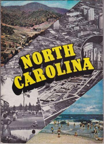 1950 North Carolina State Tourism Promotional Booklet
