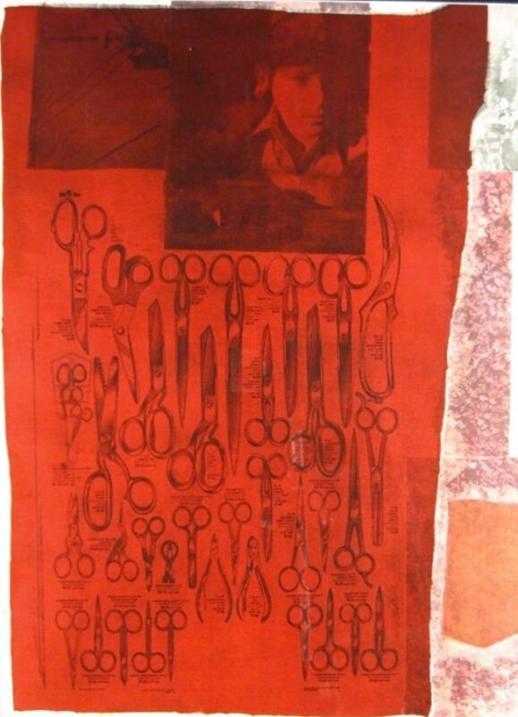 "Robert Rauschenberg 1979 ""the Most Distant Visible Part Of The Sea"" Hand Signed"