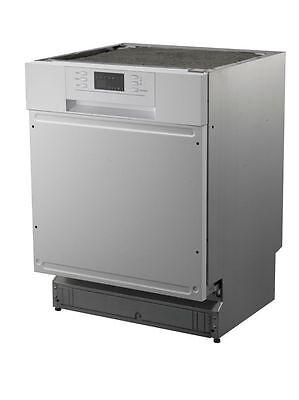 PKM DW12A++7TI Geschirrspüler 60cm teilintegriert Spülmaschine einbau unterbau