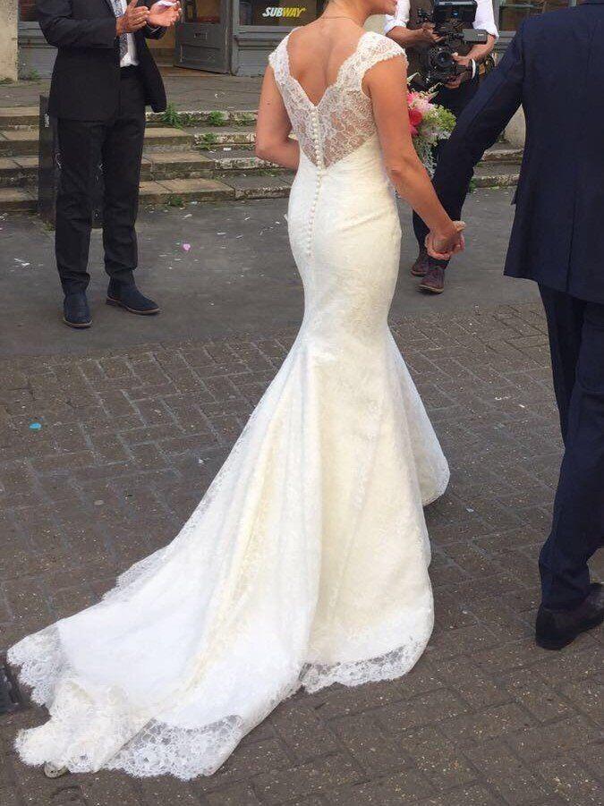 Augusta Jones Skyler Wedding Dress Size 8 10