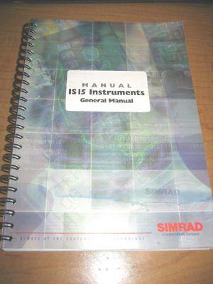 Simrad IS15 Instrument General Manual