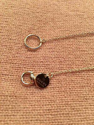 Gucci Horsebit 18k Yellow Gold Lariat Necklace