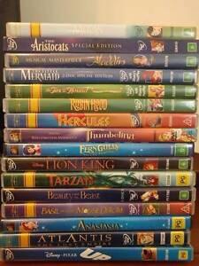 Disney Kids DVDs Yarraville Maribyrnong Area Preview
