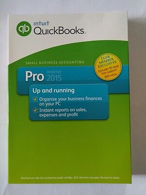 Quickbooks Pro 2015 For Windows Us Retail Edition Brand New Unregistered