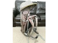 Mothercare premium baby carrier in brown - unused item, totally brand new