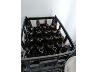 20x500ml Beer Bottles in Crates (x6)