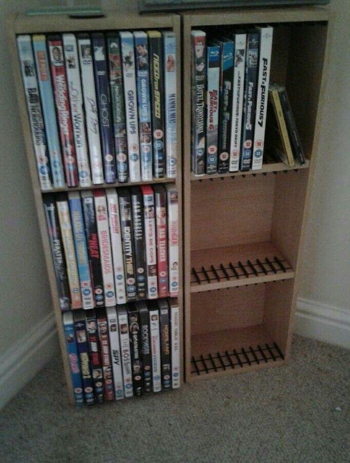 2 dvds cabinet