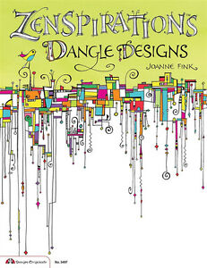 ZENSPIRATIONS-DANGLE-DESIGNS-Zentangle-Line-Drawing-Altered-Art-Paper-Craft-Book
