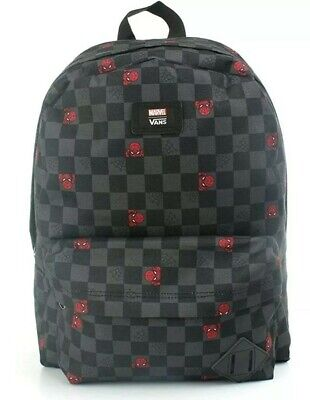 Vans Off The Wall Marvel Spiderman Backpack Rucksack bag BRAND NEW WITH TAGS
