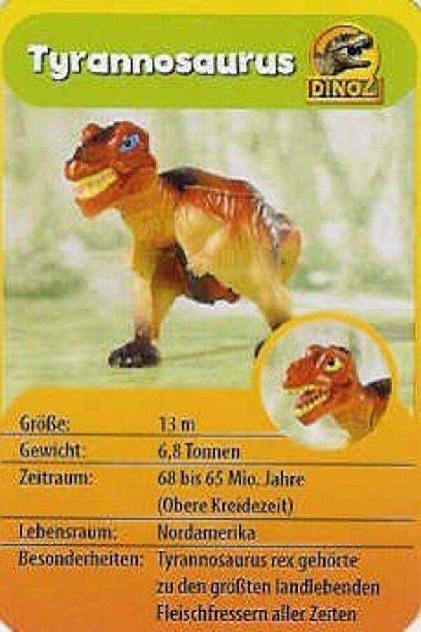 26er Komplett-Satz Dinosaurier A bis Z
