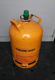 New Kosangas yellow gas cylinders for sale .