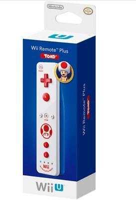 Wii Remote Plus (Toad Version) (Nintendo Wii / Wii U) BRAND NEW