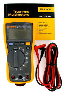 New Fluke 115 True-RMS Digital Multimeter