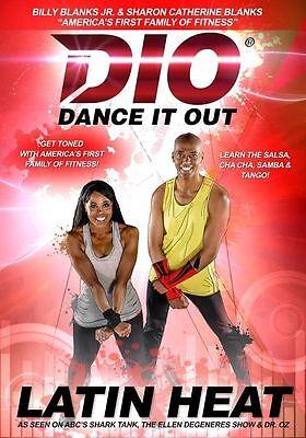 DANCE IT OUT LATIN HEAT DVD BILLY BLANKS JR NEW SEALED SEEN ON SHARK TANK