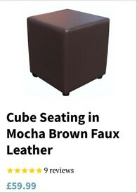 Cube seating / pouffe / stool