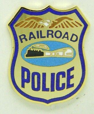 Railroad Hat-Lapel Pin/Tac- Railroad Police  #1685 -NEW