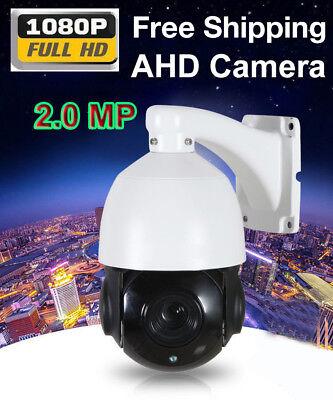 4.5'' 36X ZOOM AHD 1080P 2MP PTZ Speed Dome IR CUT Camera Night IP66 1/3'' CMOS