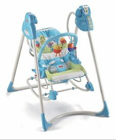 Baby rocker fisher price 3 in 1