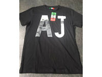 Armani men's tshirt large new with tags