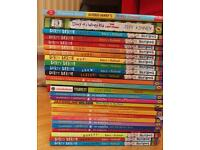 27 books of horrid Henry, wimpy kid and others
