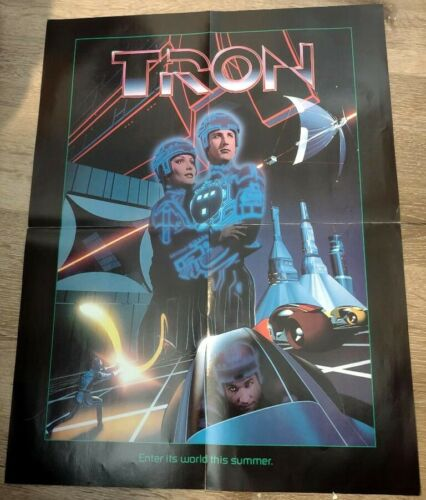 Tron -  Special Rare Movie Poster - 1982 - New
