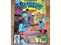 Vintage Superboy and DC Comics - 1980's